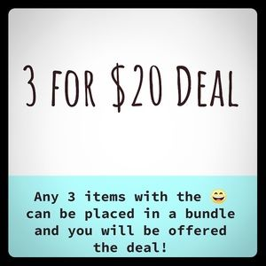 🔥 3 for $20 Deal!!! 🔥